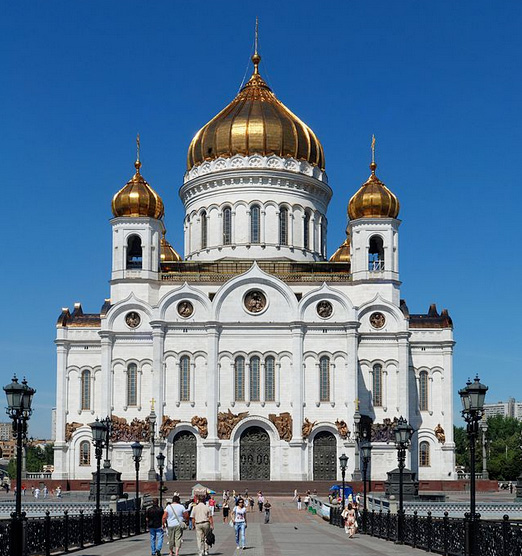 Cathedral of Christ the Savior in Russia