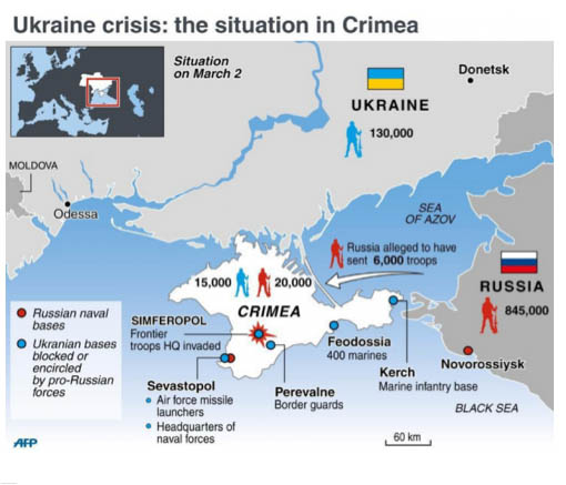Crimea War Map