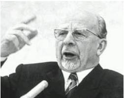 East German Chancellor Walter Ulbricht