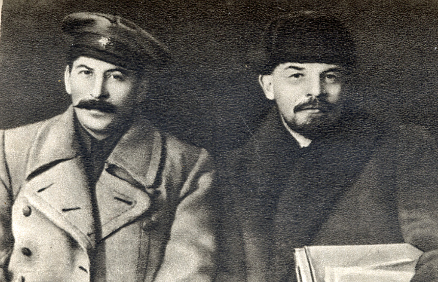 Stalin and Lenin