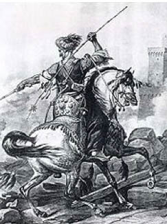 Mamluke Calvary at Battle of Ain Jalut