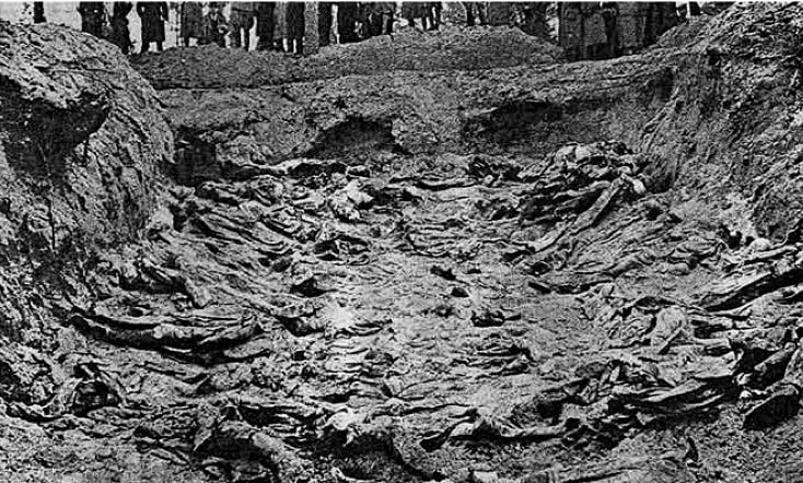 Mass Graves Katyn Forest