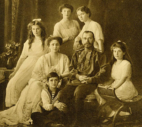 Tsar Nicolas II and Family