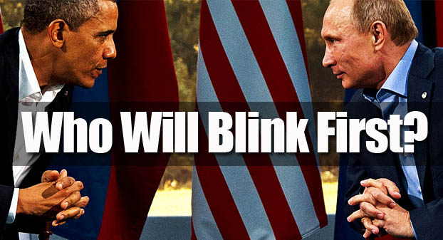 Who Will Blink First?