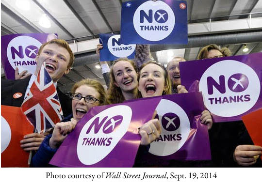 Scottish Referendum No Thanks