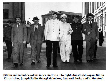 Stalin and his inner circle
