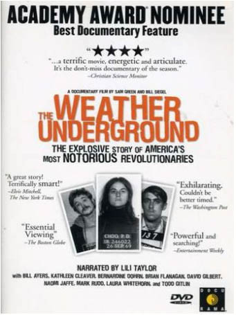 Weather Underground DVD